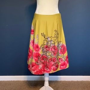 Anthropologie sz 4 skirt w/ sequin detail